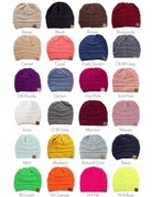 Basic C.C Beanie - 10 Colors