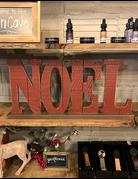 Noel Wooden Sign