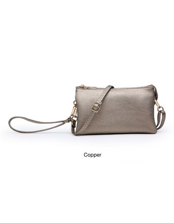 Riley Crossbody Metallic