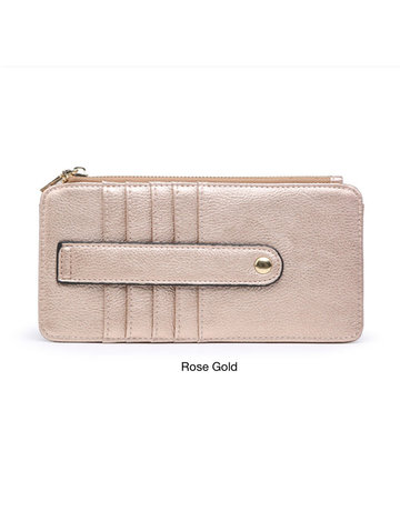Saige Wallet - Metallic