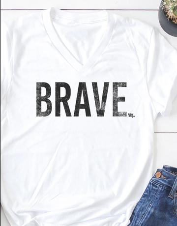 Brave Short Sleeve T-Shirt