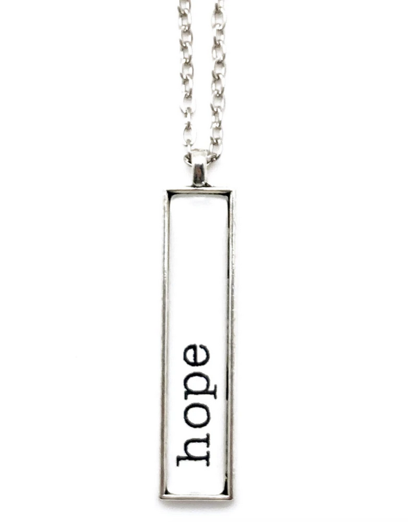 Hope Bar Necklace