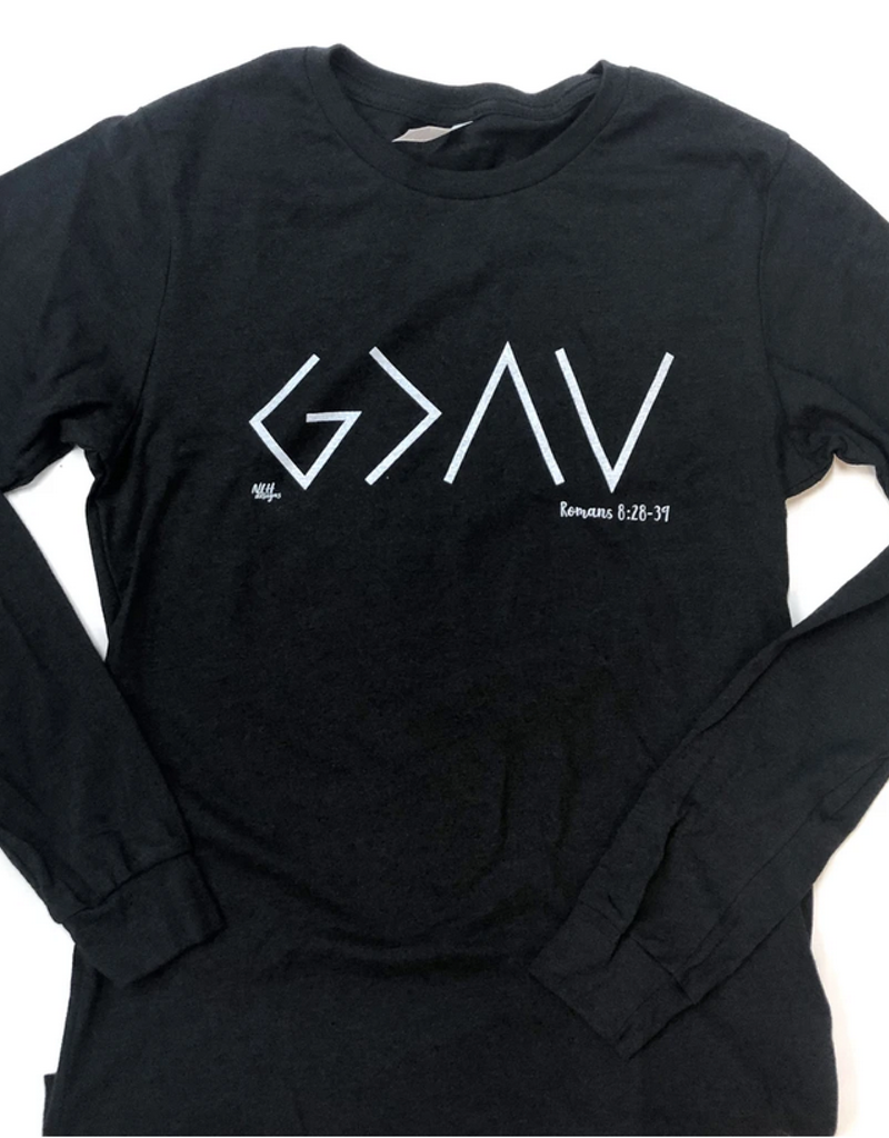 God Is Greater Than The Highs And Lows Long Sleeve