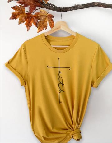 Faith Cross Short Sleeve T-Shirt