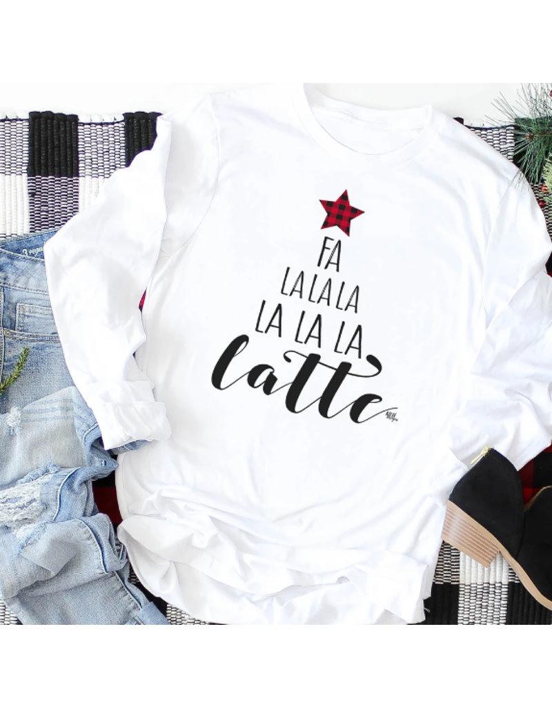 Fa La La La Latte Long Sleeve T-Shirt