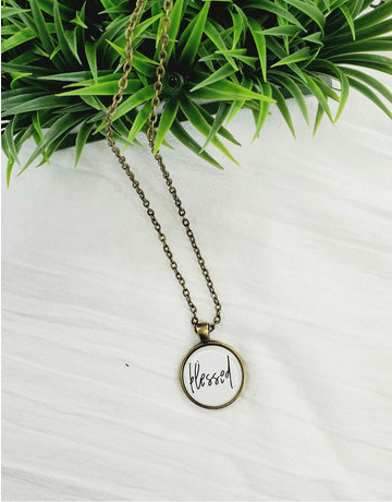 Blessed Simply Stated Necklace