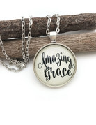 Amazing Grace Sentiment Necklace