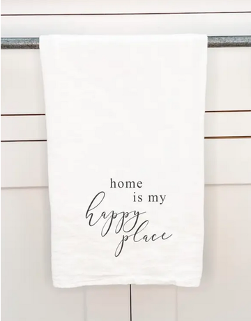 Home Is My Happy Place Towel