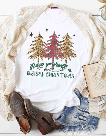 Merry Christmas Graphic Tee