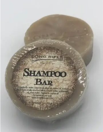 Long Rifle Soap Company Shampoo Bar
