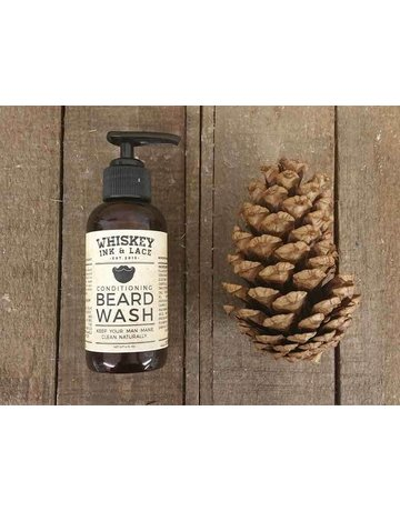 Whiskey Ink & Lace Men's Beard Wash