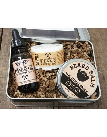 Whiskey Ink & Lace Men's Beard Kit