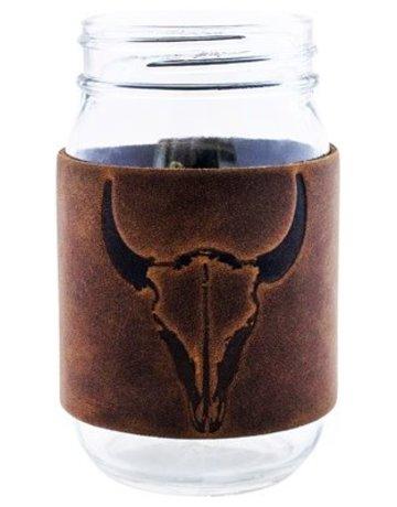 Bison Mason Jar