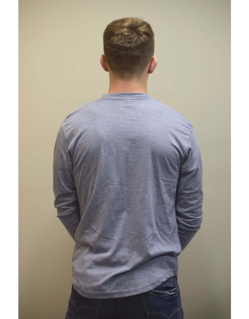 Long Sleeve Henley Shirt
