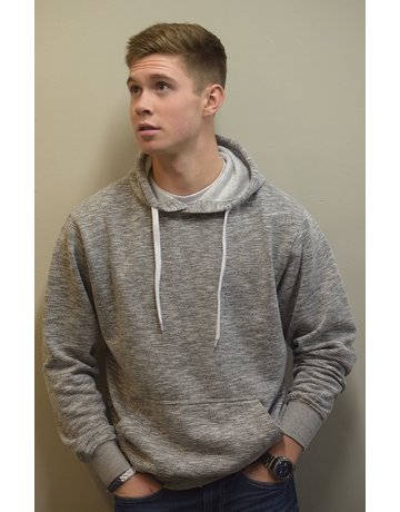 White Pull Over Hoodie