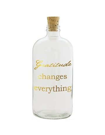 Gratitude Changes Everything Penny Jar