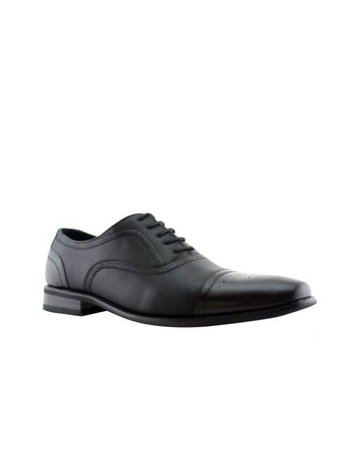 Shoe CLick Black Detailed Dress Shoe