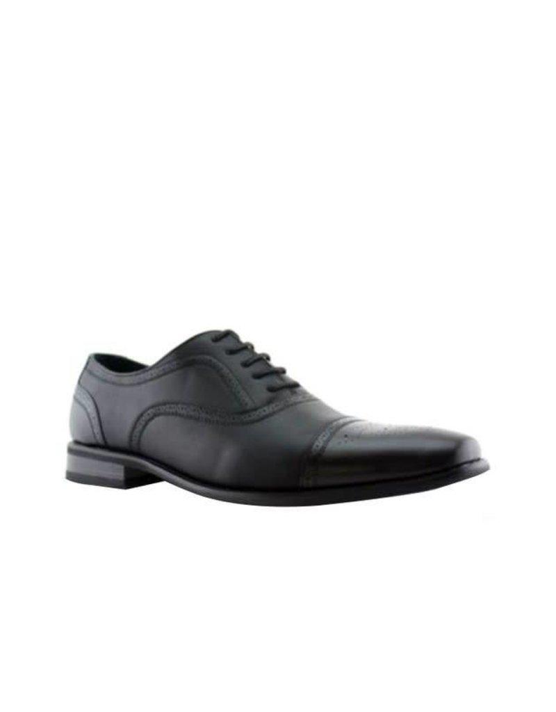 Shoe CLick Black Detailed Dress Shoe