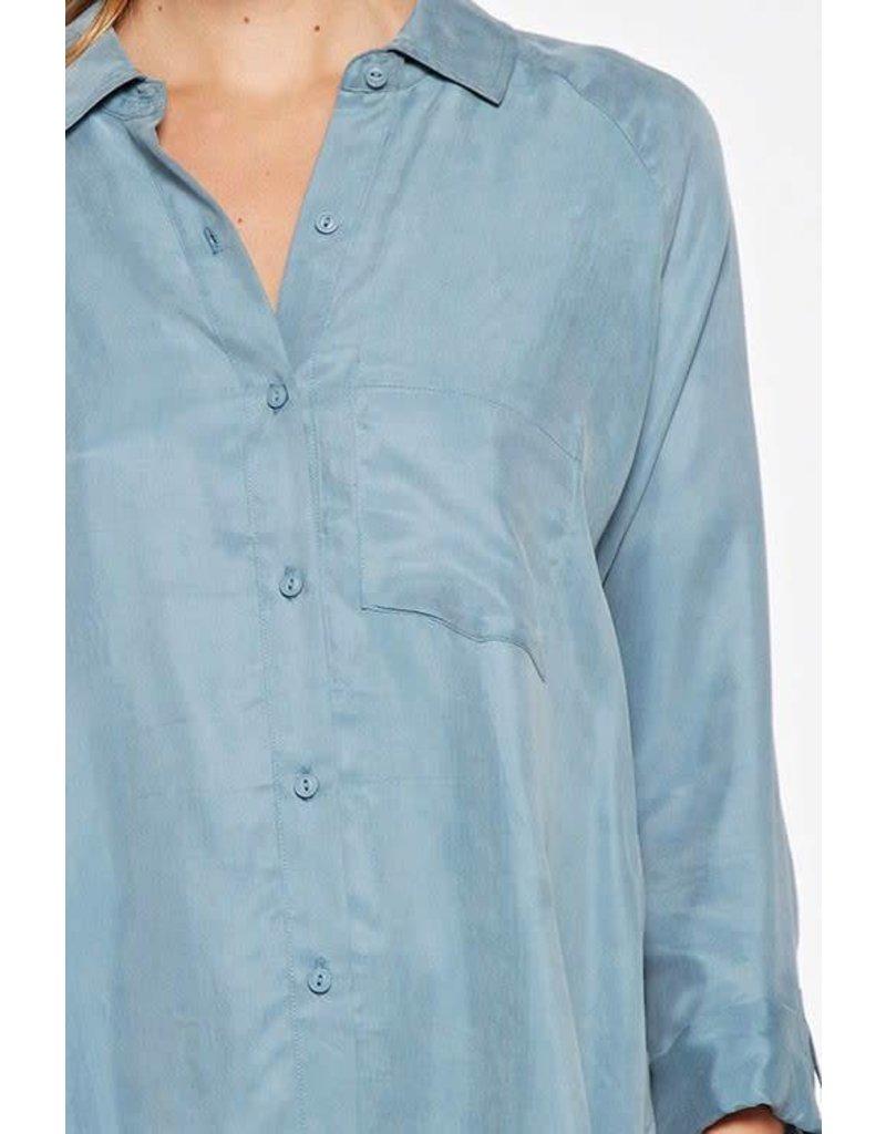 Button Down Cupro Shirt