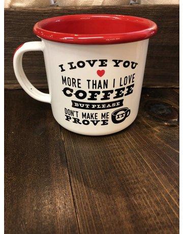 Enamel CO. Graphic Coffee Mugs