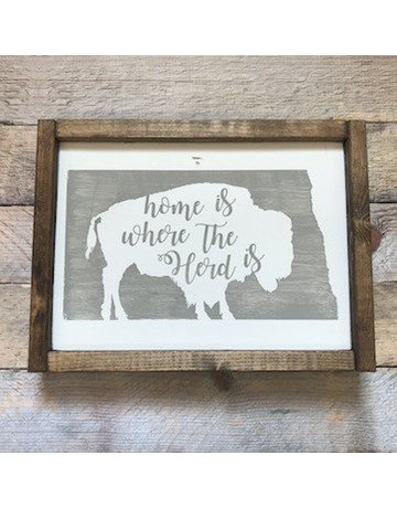 Cozy Timber CO. Home Is Where The Herd Is