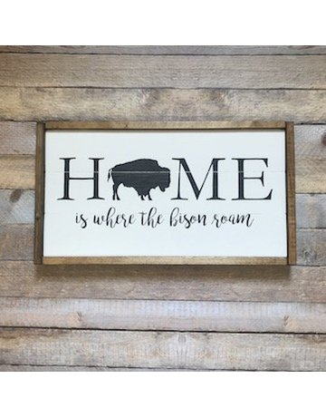 Cozy Timber CO. Home Is Where The Bison Roam