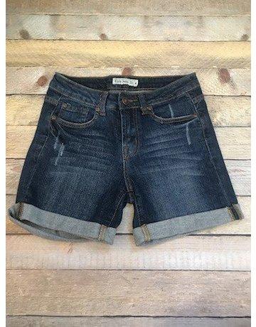Cielo Jeans shorts dk denim