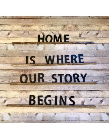 The Wood Shop Home Is Where Our Story Begins