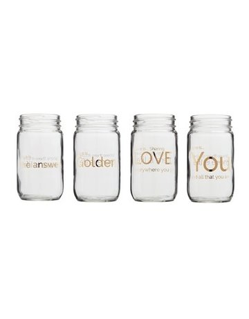 Love is....Mason Jar Collection