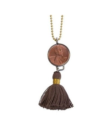 Penny Lane Good Luck Penny Necklace