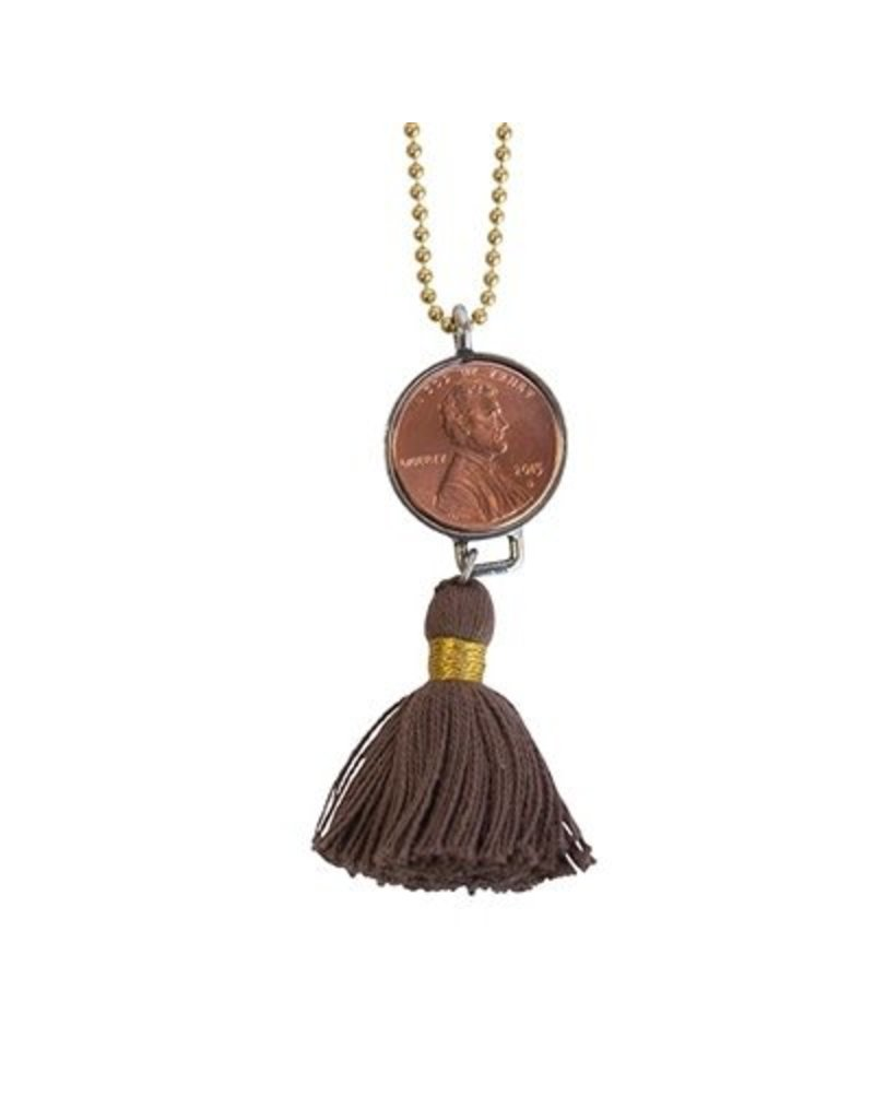 Good Luck Penny Necklace