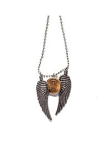 Penny Lane Penny From Heaven Big Wing Necklace