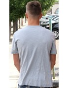 3 Button S/S Henley Tee