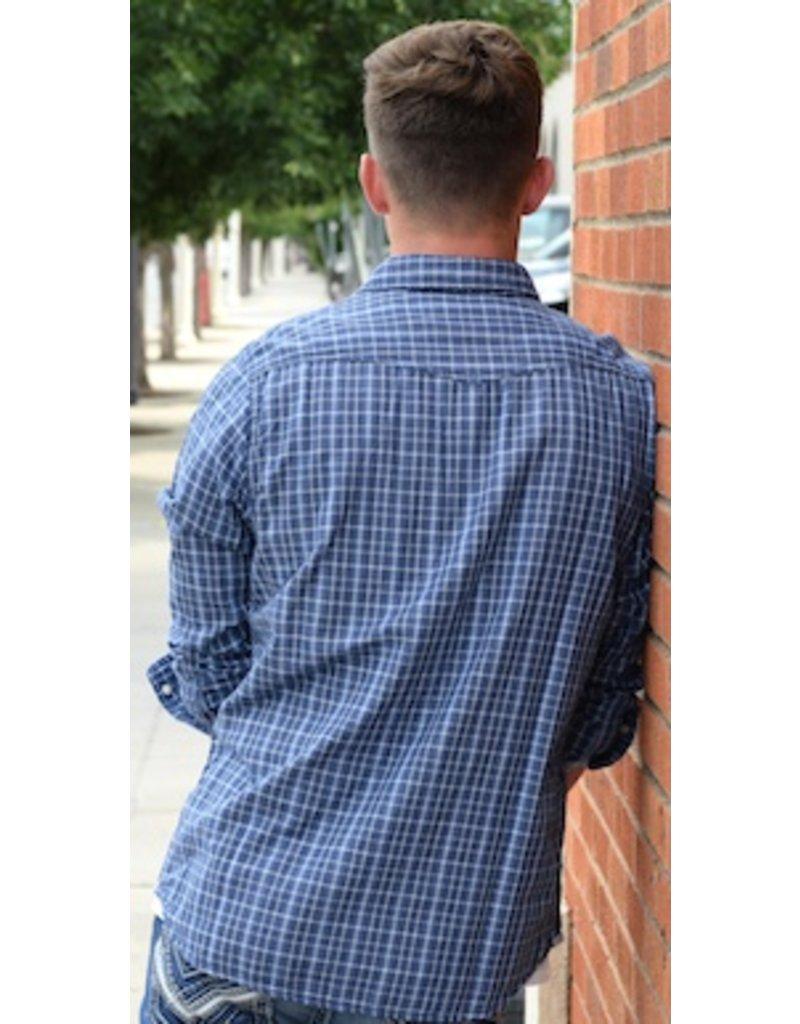 Edmond Long Sleeve Western Shirt