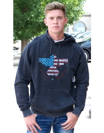 Flag and Anthem Freedom Riser Vintage Washed Hoodie
