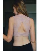 Lace Keyhole Back Bralette