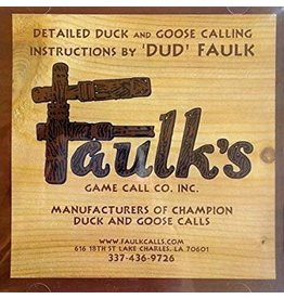 Faulks Faulk's Game Call Instructional CD