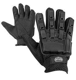 VALKEN Gloves V-TAC Full Finger Plastic Back BLACK S