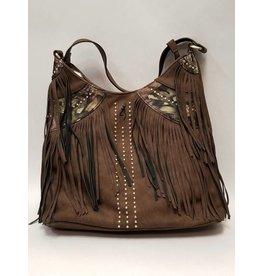 SPG Browning Browning handbag dark brown