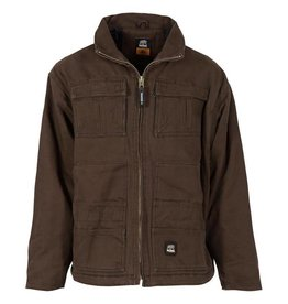 Berne Berne Men's Flex180 Washed Chore Coat BARK