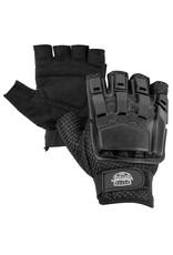 VALKEN Gloves - V-TAC Half Finger Plastic Back Black M/L
