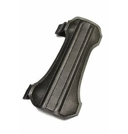 """X-Spot Quest Leather Armguard 6.5"""" with velcro strap BLK"""