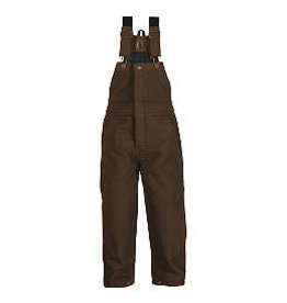 Berne Youth Washed Insulated Bib Overall BARK