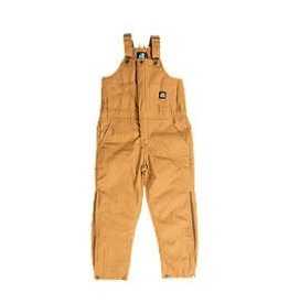 Berne Youth Insulated Bib Overall BROWN DUCK