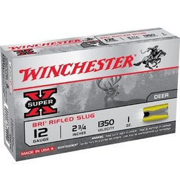 """Winchester Winchester Super X Bri Sabot Slug 12 ga 2 3/4"""" 1350fps 1oz."""