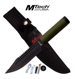 "MTech Usa MTECH USA MT-20-68GN FIXED BLADE KNIFE 10.75"" OVERALL"