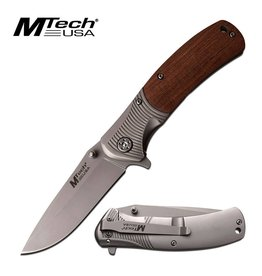 "MTech Usa Mtech Usa Folding Knife 4.5"" Closed Brown"