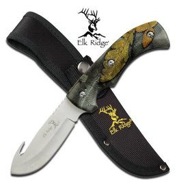 "Elk Ridge Elk Ridge ER-274FC FIXED BLADE KNIFE 8.75"" OVERALL"