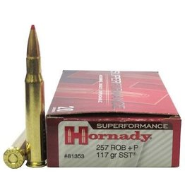 Hornady Hornady Superperformance - 257 ROB+P 117gr SST