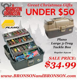 Plano Plano Large 3-Tray Tackle Box - Model 6134-03